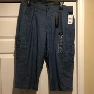 New women's lee flex comfort waistband skimmers 14